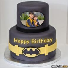 Batman Cake For Boys With Picture